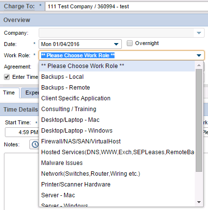 Simplify ConnectWise Time Entry